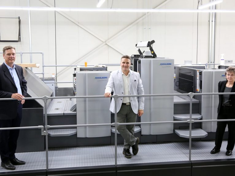 "Bellwyck Continues ""Smart Factory"" Transformation with Second Speedmaster CX 102 from Heidelberg"